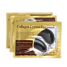 Коллагеновая маска под глаза Collagen Crystal Eye Mask черная 2 шт