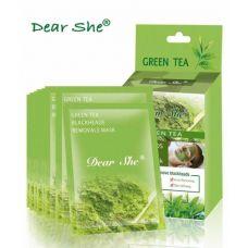 Маска для лица Dear She Green tea 10 шт по 20 г
