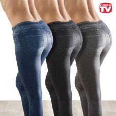Утягивающие джинсы Slim 'n Lift Caresse Jeans